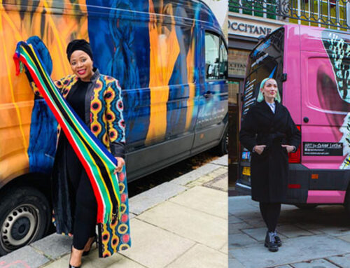 The ShipArt journey – How we choose the artist and wrap each vehicle in their work