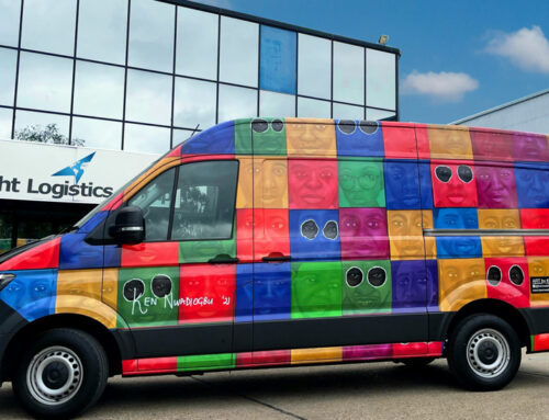 ShipArt vehicle No.18 out today – Great new artwork wrapped on the latest vehicle