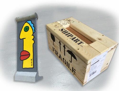 Packaging Thierry Noir art